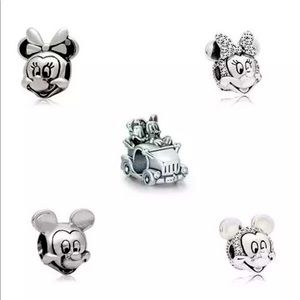 New Disney Characters European 925 Charm